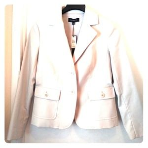 Talbots Women's. Cream Jacket Size 6